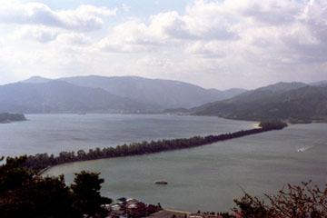 天橋立 傘松公園からの眺め