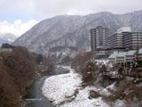 楯岩橋からの眺め
