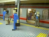 地下鉄東京駅の丸ノ内線ホーム