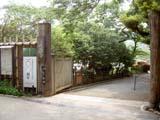 三渓園の入口