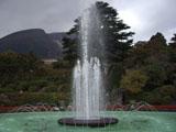 フランス式庭園噴水