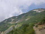 八方池から唐松岳へ
