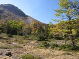 白根山と紅葉