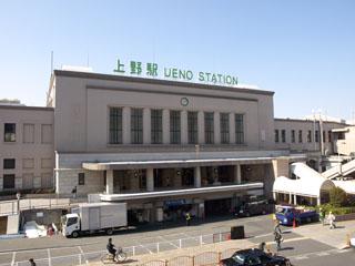 JR上野駅 正面玄関口
