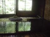 秋田杉の湯船