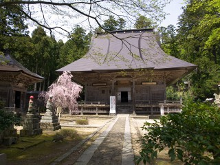 国上寺本堂