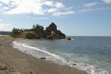 曽々木海岸・窓岩