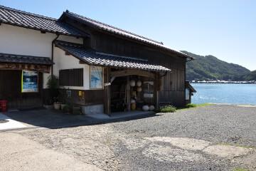 江戸時代の舟屋