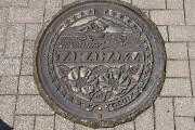 青葉山とハマナス