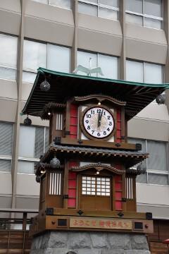 坊っちゃんカラクリ時計