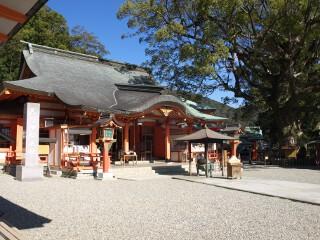 熊野那智大社拝殿