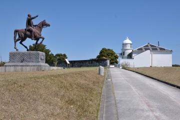 樫野埼灯台前広場