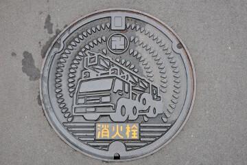 弘前市のマンホール