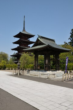 五重塔と鐘楼