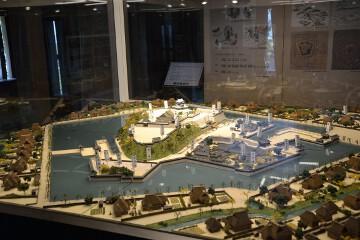 丸岡城模型