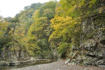 暗門の滝歩道