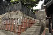 土管の石垣