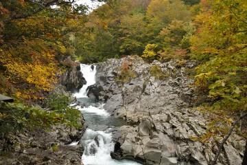 一の滝と二の滝