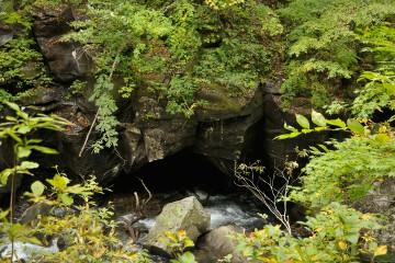 洞合の大甌穴