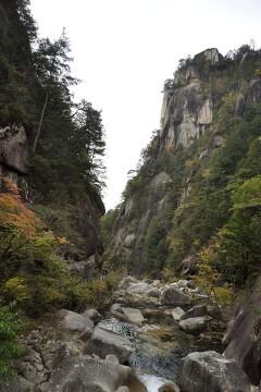 昇仙橋からの眺め