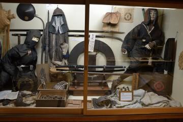 忍者の服装や道具類