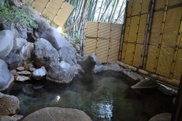 青巒荘 竹林の湯