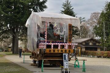 角館祭りの曳山