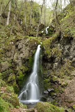 天狗の滝と薄衣の滝