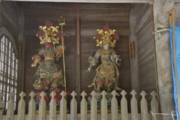 山門の四天王