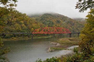 錦秋湖鉄橋