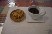コーヒーと亀おこし