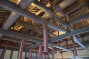 二階部屋の柱