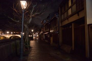 レトロな街灯