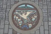 登米市のマンホール